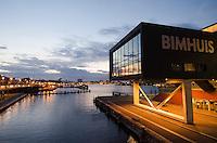 Nederland, Amsterdam, 1 okt 2014<br /> Het Bimhuis, jazzpodium aan het IJ in Amsterdam.<br /> Foto: (c) Michiel Wijnbergh