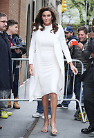 APR 26 Caitlyn Jenner Seen At The View
