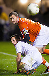 Jacob Hustedt -- University of Washington Huskies men's soccer team wins 3-0 over the Oregon State Beavers in Seattle Friday, Nov. 11, 2011. (Photo by Andy Rogers/Red Box Pictures)