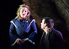 La Boheme <br /> by Puccini <br /> English Touring Opera at the Hackney Empire, London, Great Britain <br /> rehearsal <br /> 11th March 2015 <br /> <br /> David Butt Philip as Rodolfo <br /> <br /> Ilona Domnich as Mimi <br /> <br /> <br /> <br /> Photograph by Elliott Franks <br /> Image licensed to Elliott Franks Photography Services