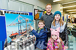 At the Kerry Science Festival in IT Tralee on Saturday were Ben O'keeffe, Aisling O'keeffe, Kate O'Keeffe and Ioseph Nestor from Liebherr Group