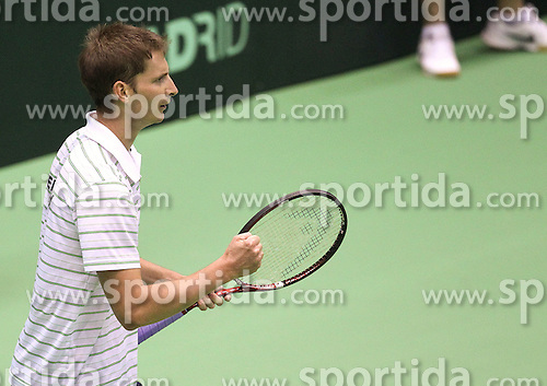 04.03.2011, Dom Sportova, Zagreb, Croatia - ITF Davis Cup, Croatia (CRO) vs Germany (GER), first round. Florian Mayer (Germany). .                                                                                                   EXPA Pictures © 2011, PhotoCredit: EXPA/ nph/ PIXSELL       ****** out of GER / SWE / CRO  / BEL ******