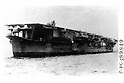 Japanese aircraft carrier S?ry?, undated, was sunken at the Battle of Midway Island.
