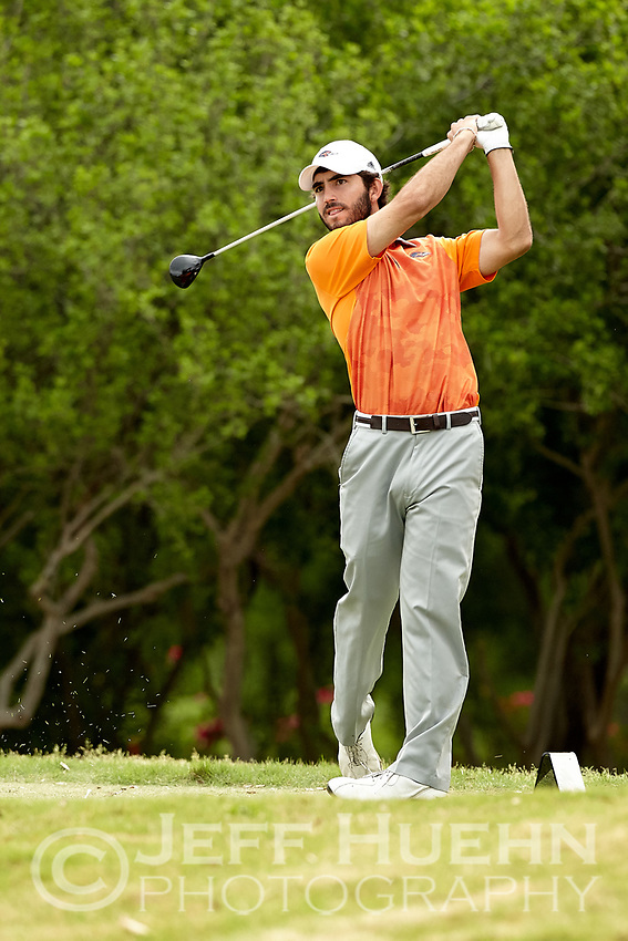 SAN ANTONIO, TX - MARCH 21, 2017: The University of Texas at San Antonio Roadrunners host the UTSA Lone Star Invitational Men's Golf Tournament at the Briggs Ranch Golf Club. (Photo by Jeff Huehn)