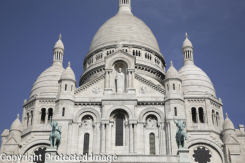 Sacre Coeur Church Montmartre, Paris, France