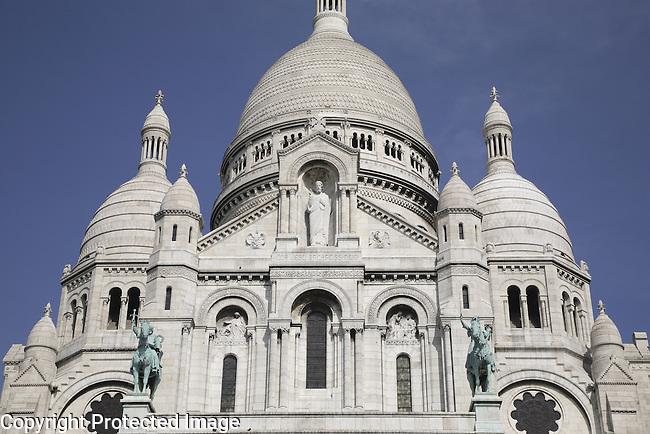 Sacre Coeur Church, Montmartre, Paris, France
