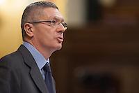 The Minister of Justice, Alberto RuÌz-GallardÛn