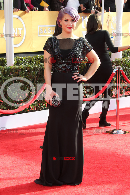 LOS ANGELES, CA - JANUARY 27: Kelly Osbourne at The 19th Annual Screen Actors Guild Awards at the Los Angeles Shrine Exposition Center in Los Angeles, California. January 27, 2013. Credit: mpi27/MediaPunch Inc.