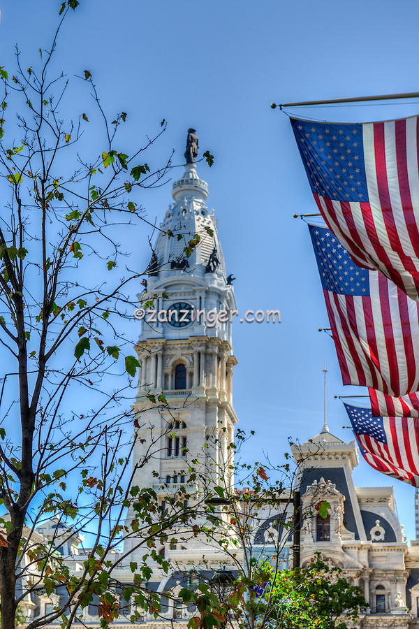 Philadelphia City Hall is the house of government for the city of Philadelphia