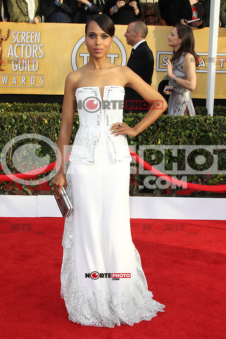 LOS ANGELES, CA - JANUARY 27: Kerry Washington at The 19th Annual Screen Actors Guild Awards at the Los Angeles Shrine Exposition Center in Los Angeles, California. January 27, 2013. Credit: mpi27/MediaPunch Inc. /NortePhoto