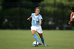 16 September 2005: Kacey White. The North Carolina Tarheels defeated the San Diego Toreros 3-0 at Duke University's Koskinen Stadium in Durham, NC in a NCAA Division I women's soccer game.