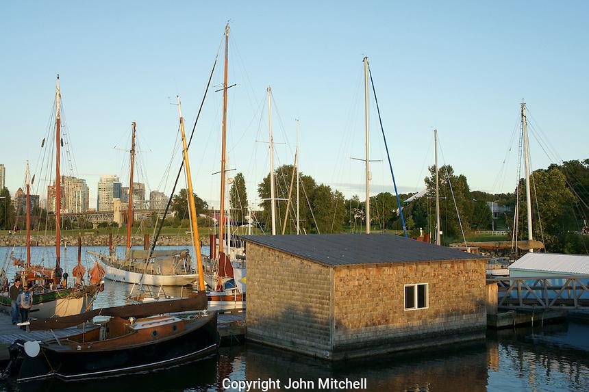 Heritage Harbour, Vancouver Maritime Museum, Vanier Park, Vancouver, British Columbia, Canada