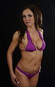 Stock Photo of physically fit hispanic woman