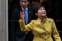 06.11.2013 - The President of the Republic of South Korea Park Geun-hye at 10 Downing Street