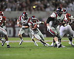 Ole Miss running back Jeff Scott (3) runs vs. Alabama at Bryant-Denny Stadium in Tuscaloosa, Ala. on Saturday, September 29, 2012. Alabama won 33-14. Ole Miss falls to 3-2.