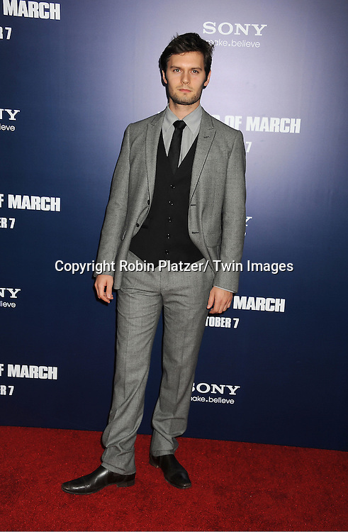 "New York Premiere of ""The Ides of March"" 