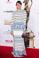 PASADENA, CA, USA - OCTOBER 10: Mia Maestro arrives at the 2014 NCLR ALMA Awards held at the Pasadena Civic Auditorium on October 10, 2014 in Pasadena, California, United States. (Photo by Celebrity Monitor)