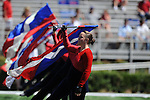 The Ole Miss band at Vaught-Hemingway Stadium in Oxford, Miss. on Saturday, September 4, 2010. Jacksonville State won 49-48 in double overtime.
