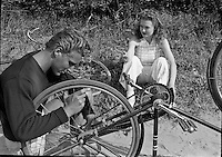 ACS Outing with Bikes 1944