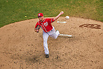 28 July 2013: Washington Nationals pitcher Ian Krol on the mound against the New York Mets at Nationals Park in Washington, DC. The Nationals defeated the Mets 14-1. Mandatory Credit: Ed Wolfstein Photo *** RAW (NEF) Image File Available ***