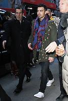NEW YORK, NY November 23: Joe Jonas of DNCE  at  Good Morning America in New York City.November 23, 2016. Credit:RW/MediaPunch