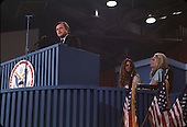 "Miami, FL - (FILE) -- United States Senator Edward M. ""Ted"" Kennedy (Democrat of Massachusetts) speaks at the 1972 Democratic National Convention in Miami, Florida in August, 1972..Credit: Arnie Sachs / CNP"