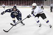 Samuel Johnson (Trinity - 5), Greg Johnson (Williams - 6) - The Williams College Ephs defeated the Trinity College Bantams 4-2 (EN) on Tuesday, January 7, 2014, at Fenway Park in Boston, Massachusetts.