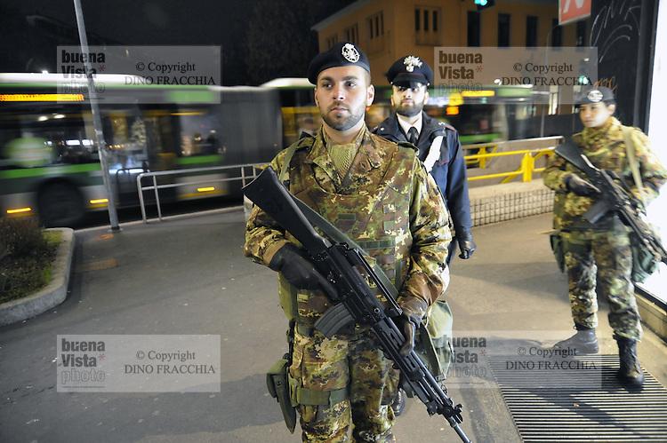 Milano voglia di sicurezza