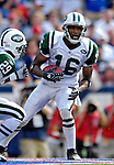 30 September 2007: New York Jets wide receiver Brad Smith in action against the Buffalo Bills at Ralph Wilson Stadium in Orchard Park, NY. The Bills defeated the Jets 17-14 handing the Jets their third loss of the season...Mandatory Photo Credit: Ed Wolfstein Photo