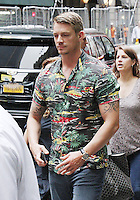 NEW YORK, NY-August 01`: Jay Hernandez at Good Morning America  to talk about new movie Warner Bros. & DC  Suicide Squad in New York. NY August 01, 2016. Credit:RW/MediaPunch