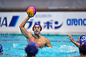 Satoshi Nagata (Bourbon KZ), OCTOBER 2, 2011 - Water Polo : Japan Challenge 2011 match Men's 3rd Place Match between Bourbon Water Polo Club Kashiwazaki 10 - 8 All Tsukuba University at Tatsumi International Swimming Pool, Tokyo, Japan. (Photo by Jun Tsukida/AFLO SPORT) [0003]