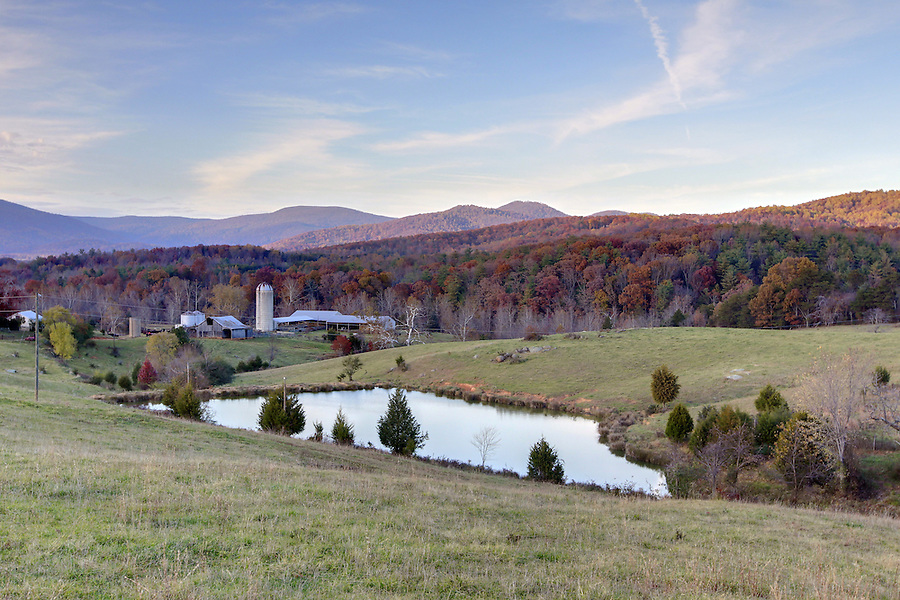 Crozet farm in Albemarle County, VA. Photo/Andrew Shurtleff