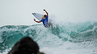 Snapper Rocks, Coolangatta Queensland Australia (Sunday, March 13 2016): Davey Cathels (AUS) - Round Two of the first WCT event of the year, the Quiksilver Pro Gold Coast, was called on this morning with a number of top seeds hitting the water. In a day up upsets the Tour Rookies took out a good proportion of the heats with Stu Kennedy(AUS) defeating Kelly Slater (USA), Conner Coffin (USA) knowing out Kai Otton and Ryan Callinan  (AUS) eliminating Jordy Smith (ZAF) The event was put on hold for over 4 hours while organisers waited for conditions to improve. The surf was in the 3'-4' range most of the day.Photo: joliphotos.com