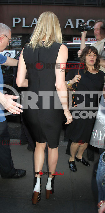 May 29, 2012 Charlize Theron  at the  Today Show to talk her new movie Snow White and the Huntsman in New York City..Credit:© RW/MediaPunch Inc.