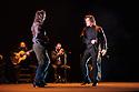 Brothers, Farruquito (Juan Manuel Fernandez Montoya 'Farruquito') & Farruco present BUEN ARATE, at Sadler's Wells, as part of the London Flamenco Festival 2016. Picture shows: Farruquito & Farruco.