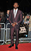 Trevante Rhodes at the 60th BFI London Film Festival &quot;Moonlight&quot; Official Competition screening, Emnbankment Garden Cinema, Villiers Street, London, England, UK, on Thursday 06 October 2016.<br /> CAP/CAN<br /> &copy;CAN/Capital Pictures /MediaPunch ***NORTH AND SOUTH AMERICAS ONLY***