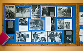 "A display of photos of Summerhill taken in 1967-68 by photographer, John Walmsley, for his final year project at Art School.  They were published as a Penguin Education Special, ""Neill & Summerhill: a Man and his Work"", with a text collected by Leila Berg, in 1969.  This display was put up in the Dining Room to mark his return visit (he took these modern colour photos) in 2010,  42 years later.    Summerhill School, Leiston, Suffolk. The school was founded by A.S.Neill in 1921 and is run on democratic lines with each person, adult or child, having an equal say.  You don't have to go to lessons if you don't want to but could play all day.  It gets above average GCSE exam results."