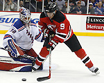 November 14, 2007: New York Rangers at New Jersey Devils