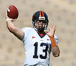 30 September 2006: Virginia's Kevin McCabe. The Duke University Blue Devils lost 37-0 to the University of Virginia Cavaliers at Wallace Wade Stadium in Durham, North Carolina in an Atlantic Coast Conference NCAA Division I College Football game.
