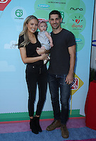 CULVER CITY, CA - SEPTEMBER 24: Melissa Ordway, Olivia Gaston, Justin Gaston attends the Step2 & Favored.by Present The 5th Annual Red Carpet Safety Awareness Event at Sony Pictures Studios on September 24, 2016 in Culver City, California. (Credit: Parisa Afsahi/MediaPunch).