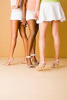 Group of women's legs