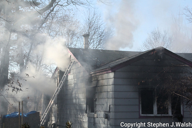 Working Fire in a 1.5 story wood single family. Owner arrived home during the fire. Total loss. Fire location 20 North Street 11:22am
