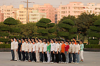 Workers are put through discipline classes where they are told to stand for long periods of time and other unappropriate tasks, in order to strengthen their stamina for work. In the south of China, Apple Macintosh sub-contracts Chinese companies; Asus and Foxconn to make its popular Ipod products. Workers pay and conditions are very questionable. In relation to Ipod's western market prices the workers do not recieve fair salaries and conditions.