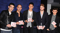 NOV 8 The Wanted signing at HMV