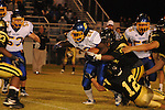 Oxford High's Mont Dean (22) runs vs. New Hope in New Hope, Miss. on Friday, September 30, 2011. New Hope won 43-22.