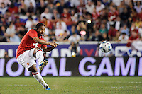 Anderson (8) of Manchester United. Manchester United defeated the MLS All-Stars 4-0 during the MLS ALL-Star game at Red Bull Arena in Harrison, NJ, on July 27, 2011.