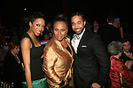 Cast Member Candice Marie Woods, Jenifer Lewis and Shaun Derik Attend the Catch Me If You Can Opening Night After Party Held At Cipriani 42nd Street, 4/10/11