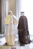 With Kuwait Sheikh Sabah Al Ahmad Al-Jaber Al-Sabah at The Vatican...May 6. 2010