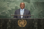 Botswana<br /> H.E. Mr. Mokgweetsi Eric Keabetswe Masisi<br /> Vice-President<br /> <br /> General Assembly Seventy-first session, 17th plenary meeting<br /> General Debate