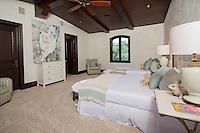 Stock photo of childerens guest bedroom